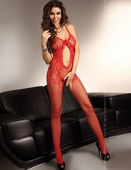 "BODYSTOCKING  ""MAGALI RED""- BLC 0006"