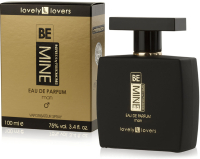 LOVELY LOVERS BeMINE 100ml MAN - MĘSKIE PERFUMY Z FEROMONAMI - 83377867