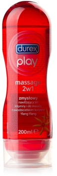 DUREX PLAY MASSAGE O ZAPACHU KWIATU YLANG-YLANG 200 ML